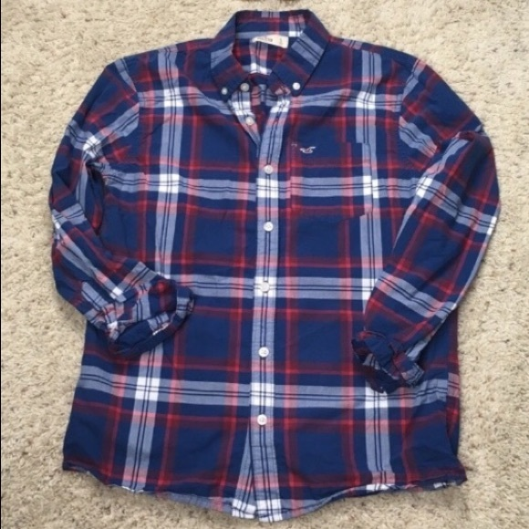 Hollister Tops - Hollister Small Flannel